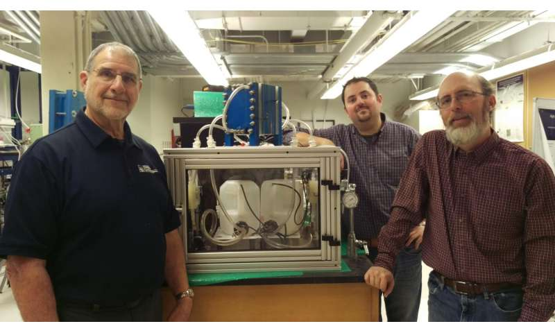 Researchers building flow battery prototype to augment grid