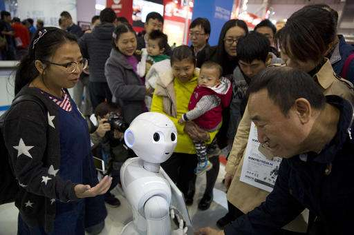 Robots at center of China's strategy to leapfrog rivals