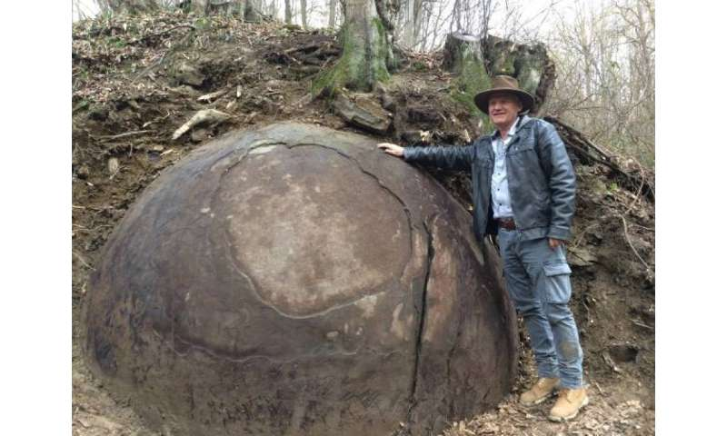 Archaeologist sees Bosnia stone sphere as the most massive in Europe