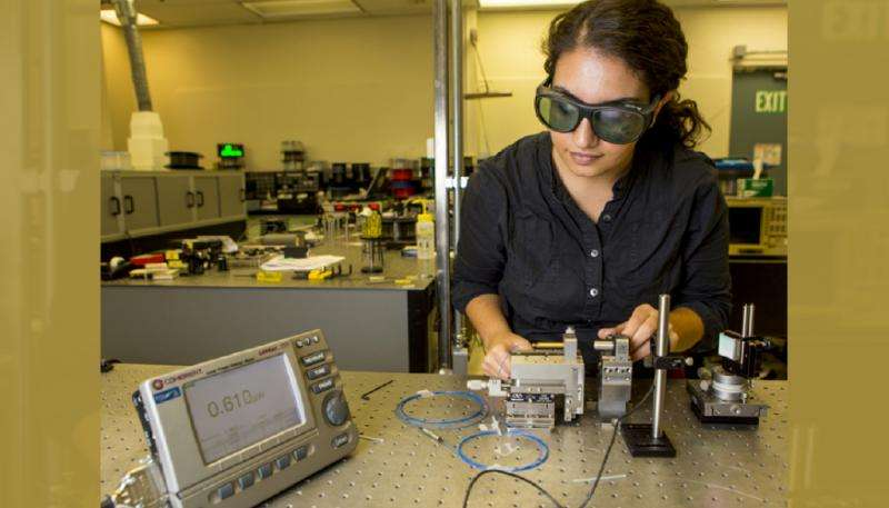 Researchers develop new amplifier that could double the capacity of fiber-optic cables