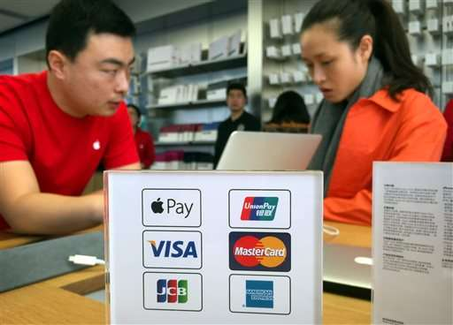 Apple Pay launches in China where e-payments widely used