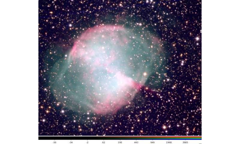Astronomer explores universe through remote-controlled telescope