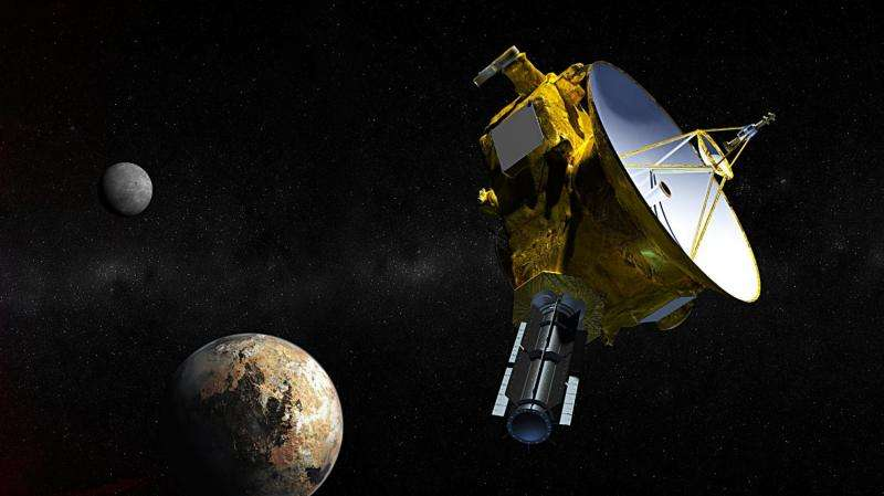 CU-Boulder student-built dust counter got few 'hits' on Pluto flyby