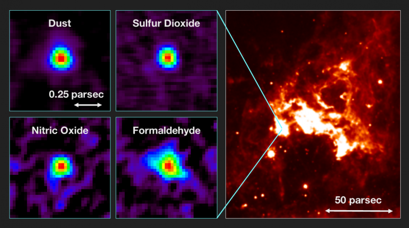 Discovery of an extragalactic hot molecular core