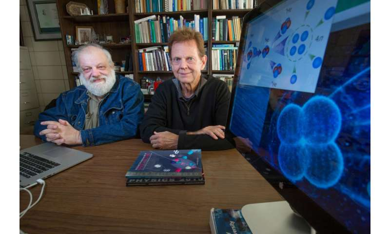 Iowa State physicists help demonstrate existence of new subatomic structure
