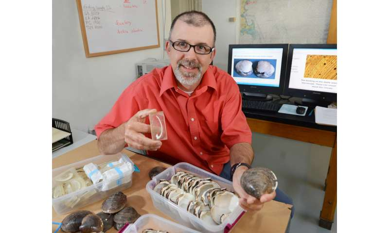 Iowa State scientist uses clam shells to help build 1,000-year record of ocean climate