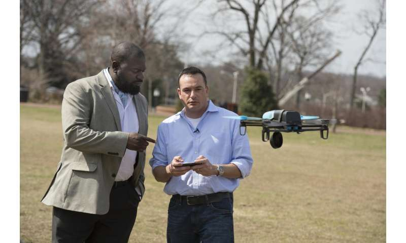 Johns Hopkins team makes hobby drones crash to expose design flaws