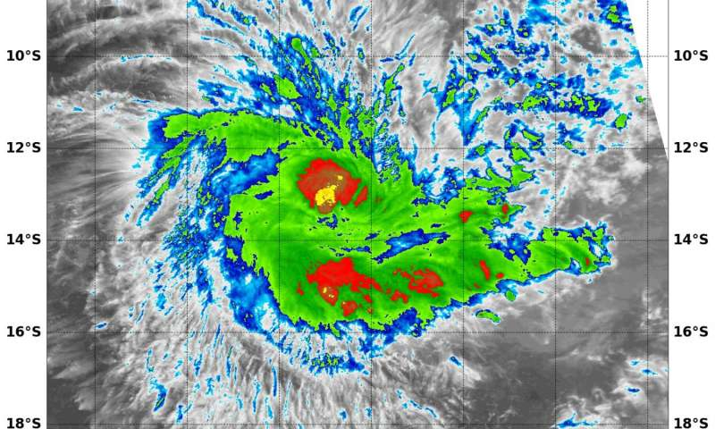 NASA eyes powerful storms in newborn Tropical Cyclone Fantala