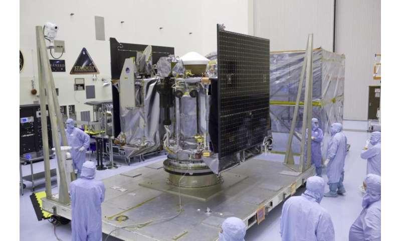NASA's OSIRIS-REx spacecraft prepared for mission to an asteroid