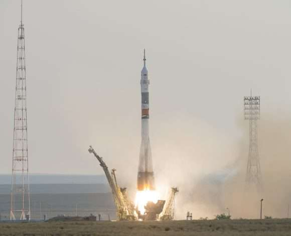New soyuz mission a go after technical delays