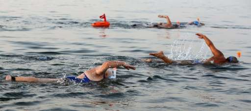 quality design 67fc6 3d867 Participants take part in a 17-kilometre swim from Jordan to Israel across  the Dead Sea, organised by the EcoPeace charity aimed at raising awareness  for ...