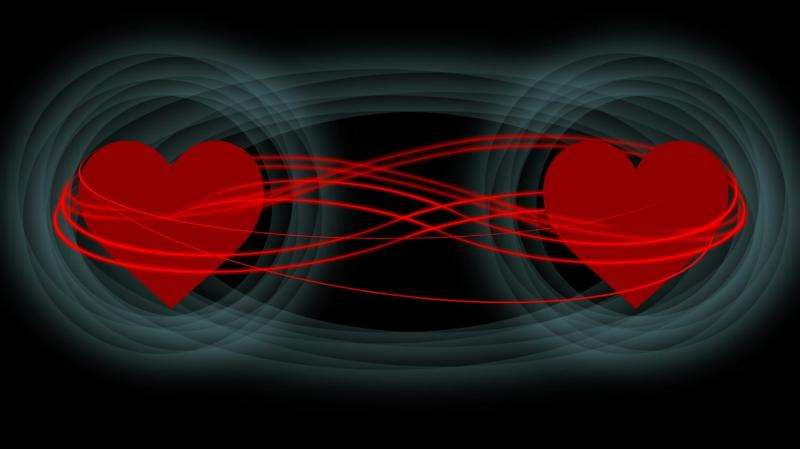 Particles in love—quantum mechanics explored in new study