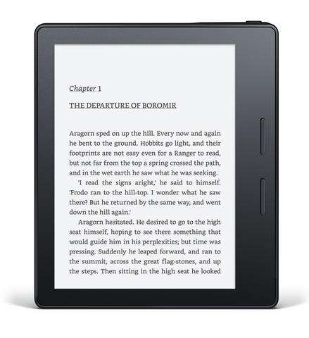 Review: Kindle Oasis aims at avid readers, pricey for others