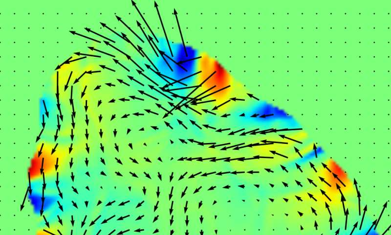 Simulations show swirling rings, whirlpool-like structure in subatomic 'soup'