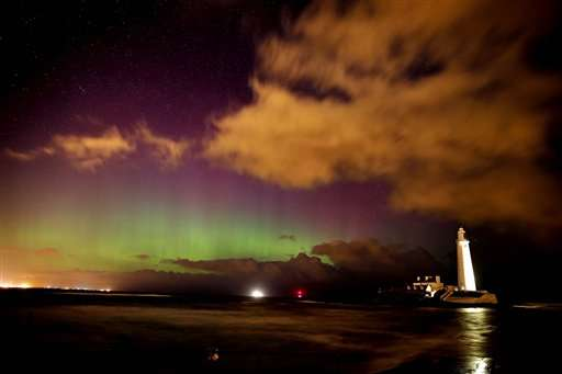 Swaths of Britain, Germany treated to northern lights