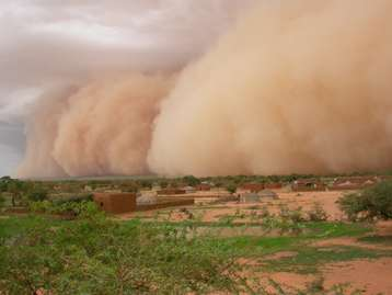 The past, present and future of African dust