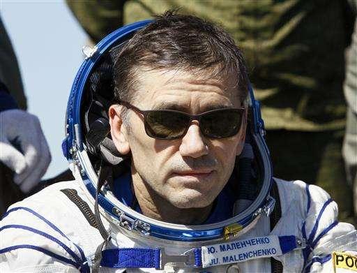 Three International Space Station astronauts land in Kazakhstan