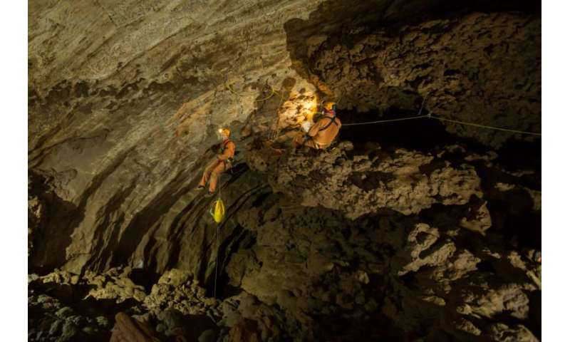 Underground astronauts preparing for space