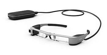 World's lightest OLED binocular see-through smart glasses