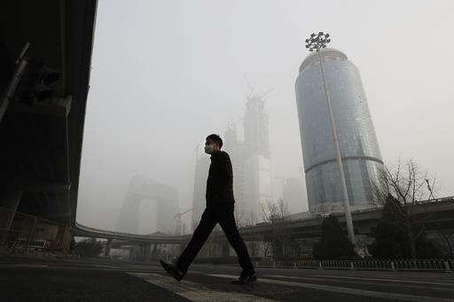 Smog chokes Chinese cities, grounding flights, closing roads
