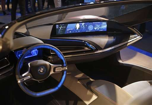 autonomous car breakthroughs featured at ces gadget show update. Black Bedroom Furniture Sets. Home Design Ideas