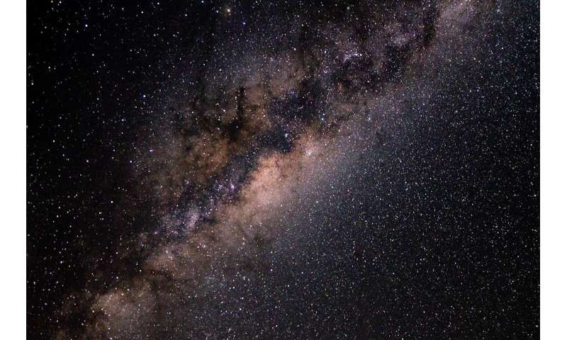 Scientists create most detailed map of the Milky Way