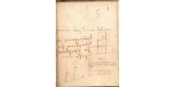 Study reveals Leonardo da Vinci's 'irrelevant' scribbles mark the spot where he first recorded the laws of friction
