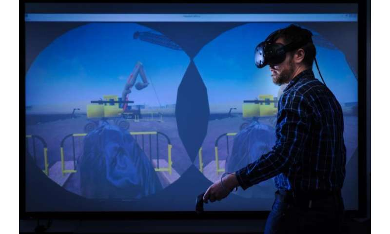 Virtual reality making construction sites safer