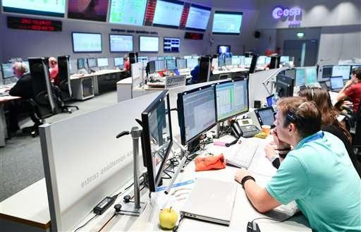 Experimental European Mars probe set for landing on Mars
