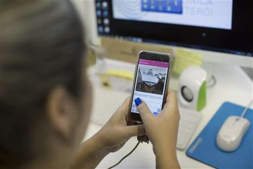 App helps in Brazil's fight against Zika-spreading mosquito