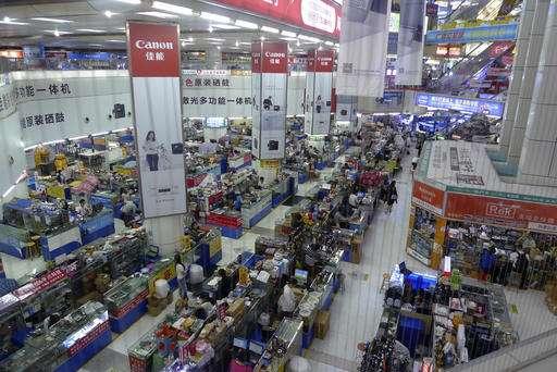 China's high-tech future emerges in factory town Shenzhen
