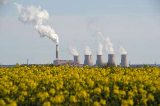 Greenhouse gas emissions pushing the planet into the red zone of dangerous warming continue to climb, putting goals for capping