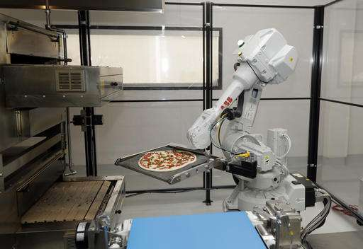 Hungry startup uses robots to grab slice of pizza