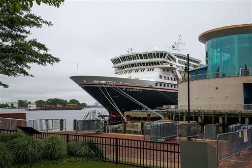 Norovirus sickens 159 on cruise ship docked in Norfolk