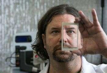 Physicists develop new touchscreen technology