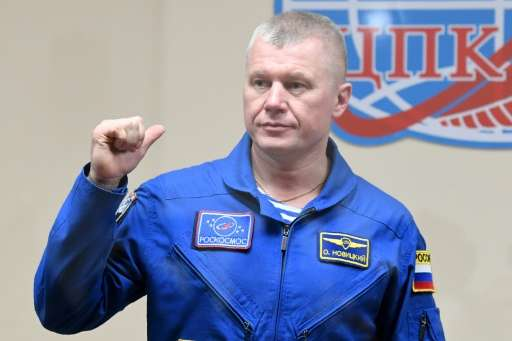 """Russian cosmonaut Oleg Novitsky said the International Space Station was a """"home and a place of work"""" but also """"a"""