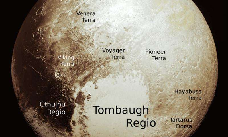 Scientists assemble fresh global map of Pluto comprising sharpest flyby images