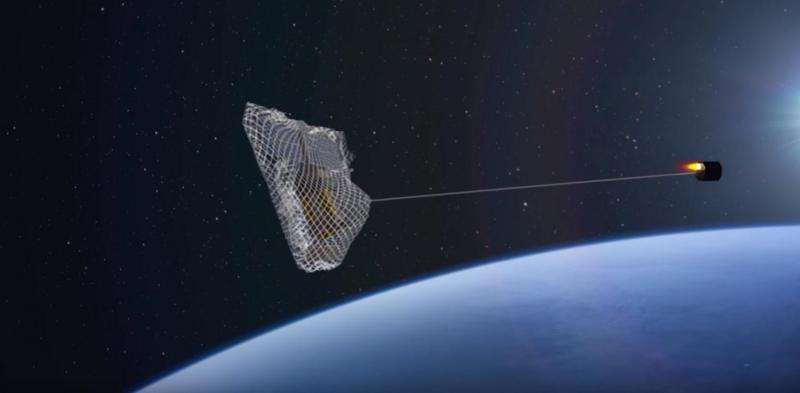 Setting a satellite to catch a satellite
