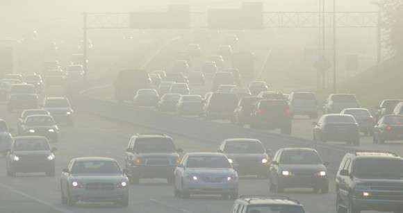 What causes air pollution?