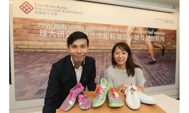 Study reveals minimalist shoes increase leg and foot muscles