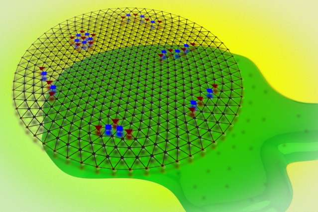 "Scientists detect a quantum crystal of electrons and ""watch"" it melt"