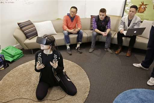 Hollywood learns a new storytelling language for VR