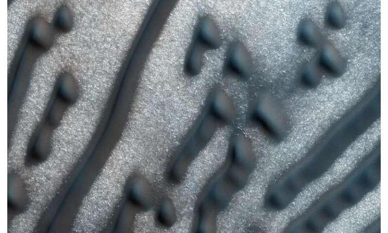 Image: Martian Morse code
