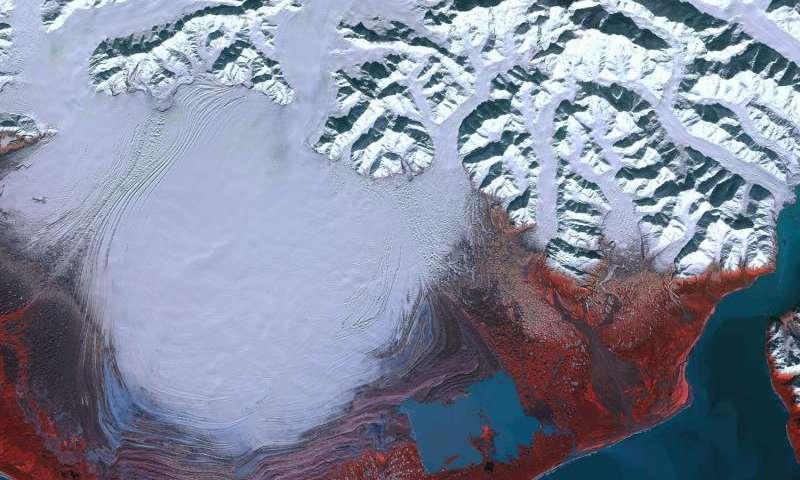 Image: Sentinel-2A captures Malaspina Glacier
