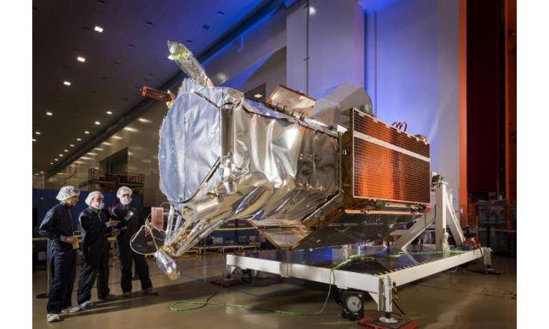 Lockheed Martin makes final preparations for DigitalGlobe's WorldView-4 Earth imaging satellite