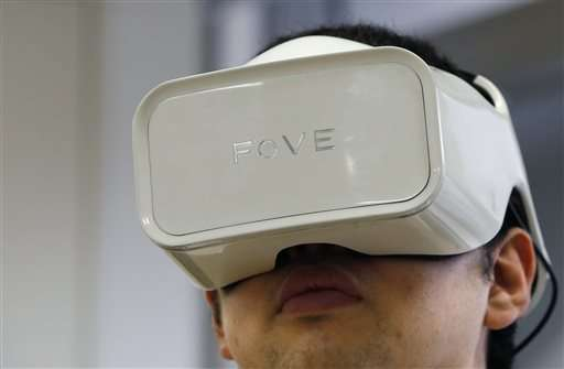Startup makes virtual reality intuitive with eye-tracking