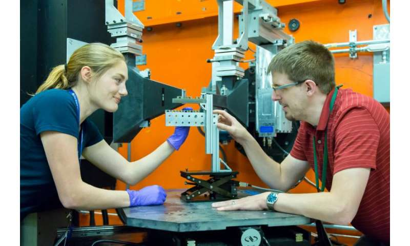 Unlocking potential of 3-D printed rocket parts with neutrons