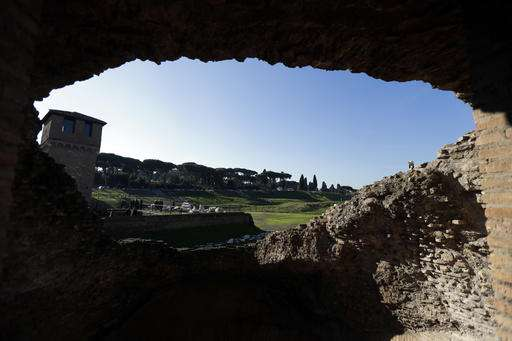 Ancient latrines, a lucky horse: New finds at Circus Maximus