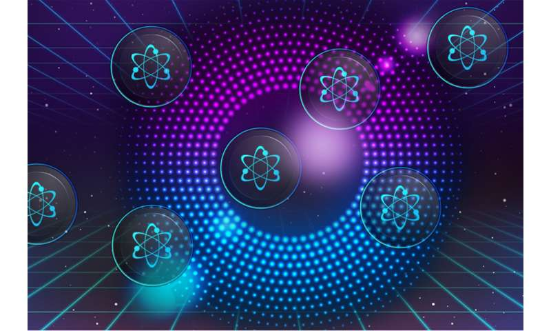 For first time, researchers see individual atoms keep away from each other or bunch up as pairs