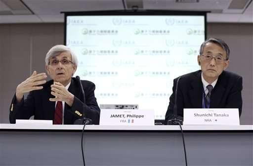 IAEA: Japan nuclear regulation should improve skills, law